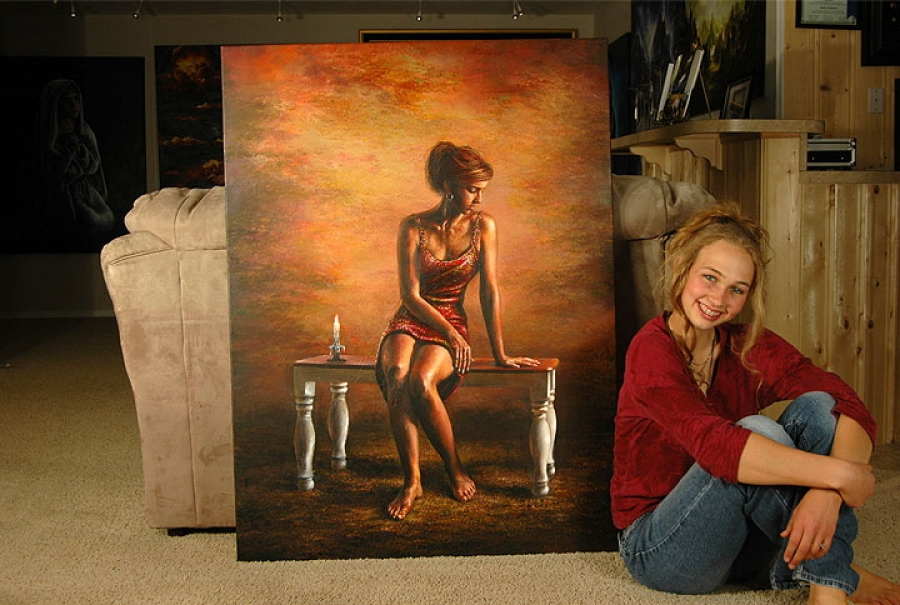 Акиана Крамарик: художник от Бога