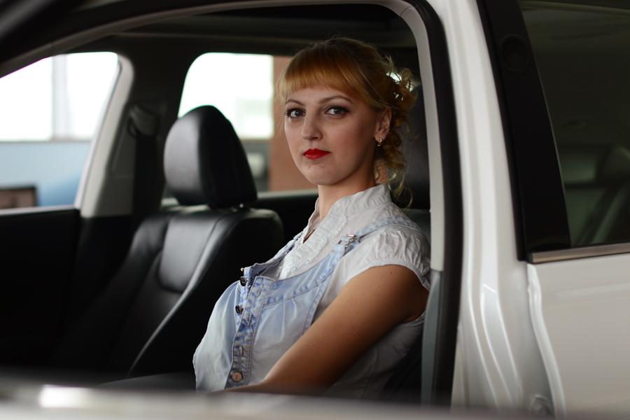Вы просматриваете изображения у материала: Фотосет: АвтоЛеди, фотограф Екатерина Ревина
