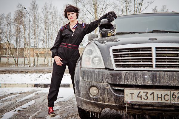 Вы просматриваете изображения у материала: Фотосет: АвтоЛеди, фотограф Алексей Мелешин