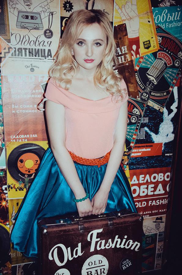 Вы просматриваете изображения у материала: Фотосет: Стиляги, фотограф - Ангелина Тверитнева