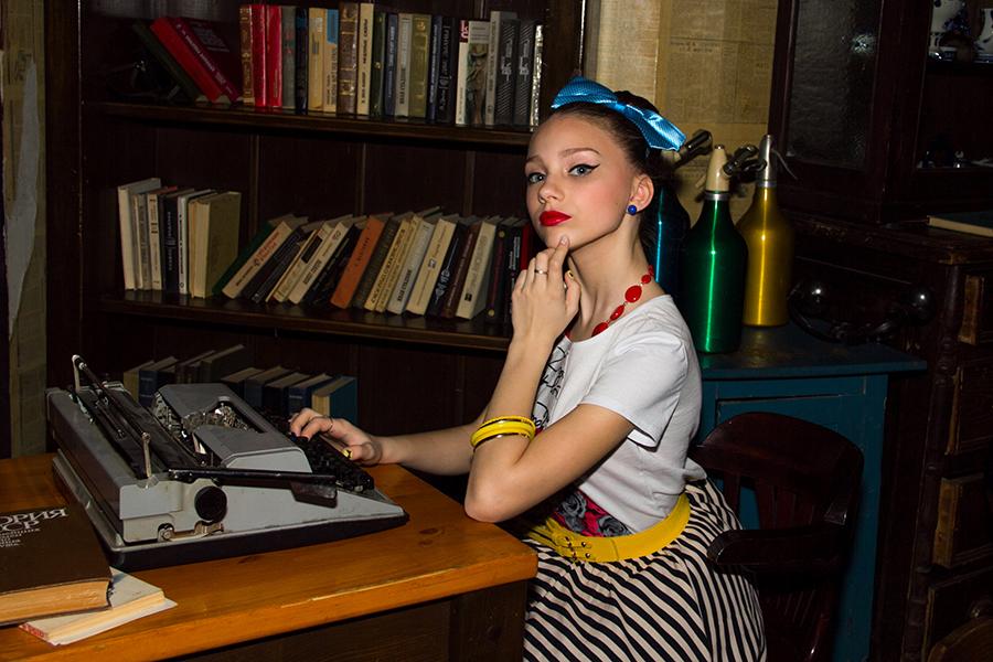Вы просматриваете изображения у материала: Фотосет: Стиляги, фотограф - Валерия Быкова