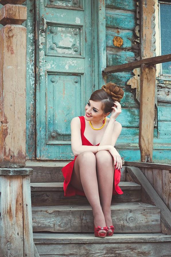 Вы просматриваете изображения у материала: Фотосет: Стиляги, фотограф - Евгения Захарцева